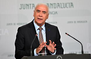 Luciano Alonso, durante su intervención.